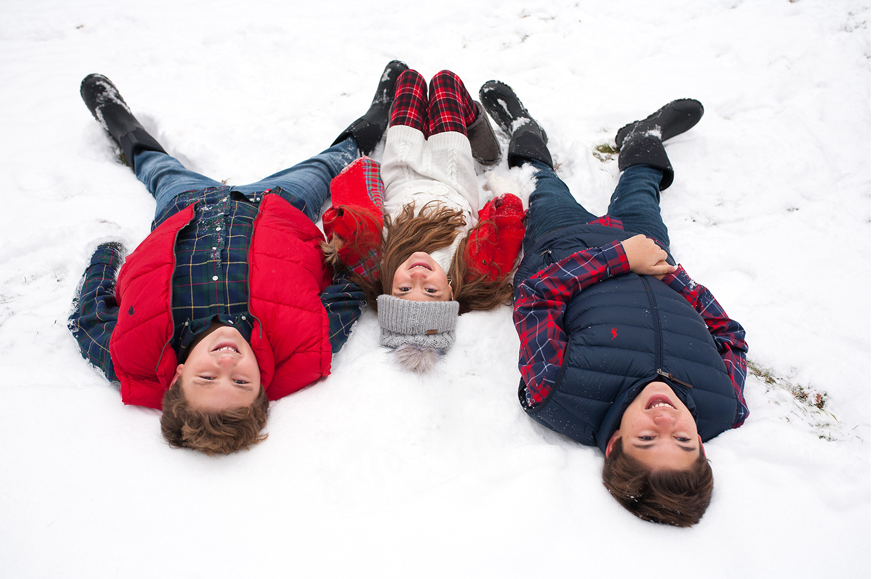 Winter photo sessions fun in the snow east grand rapids michigan