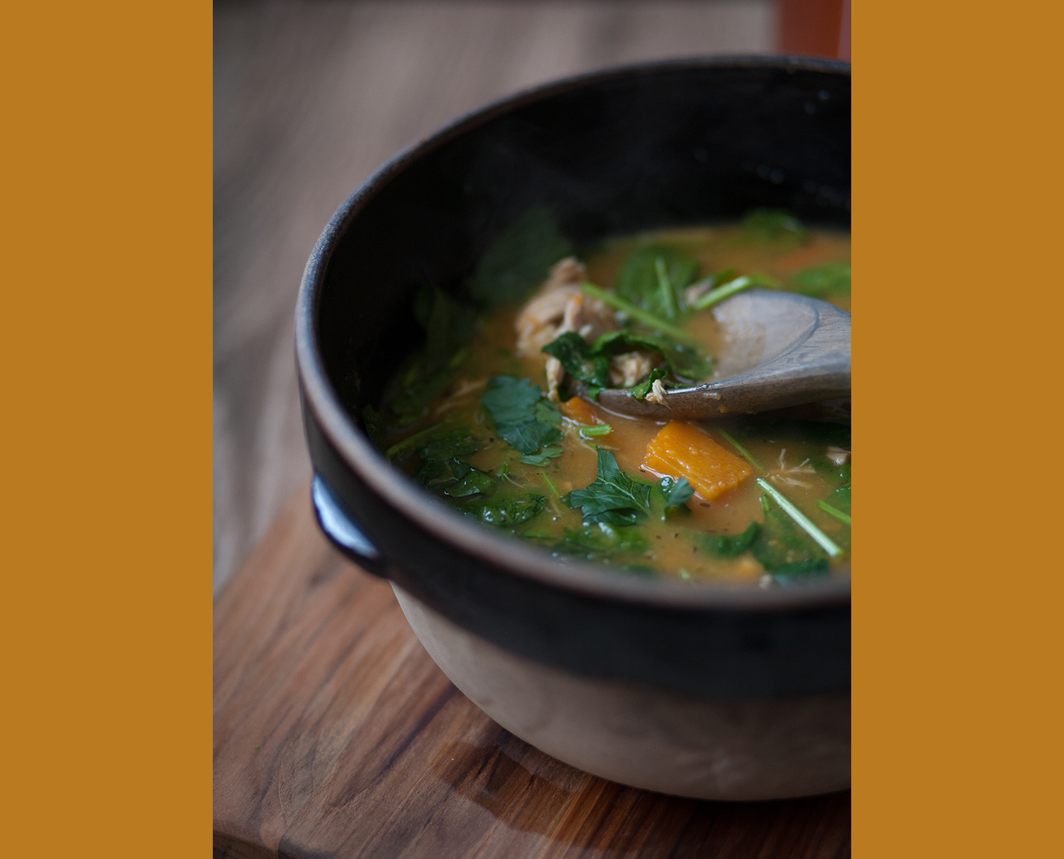 Roast Vegetable and Chicken Soup, curated by dena
