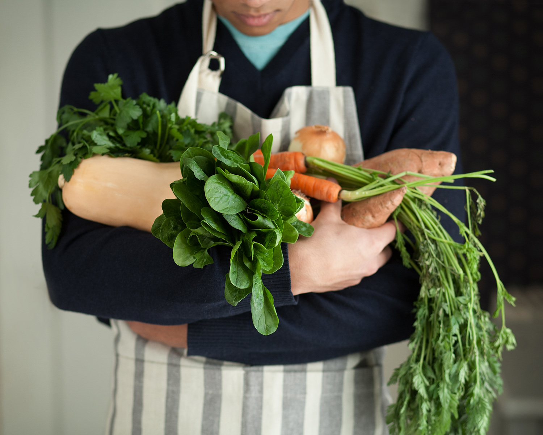 Fresh food photography