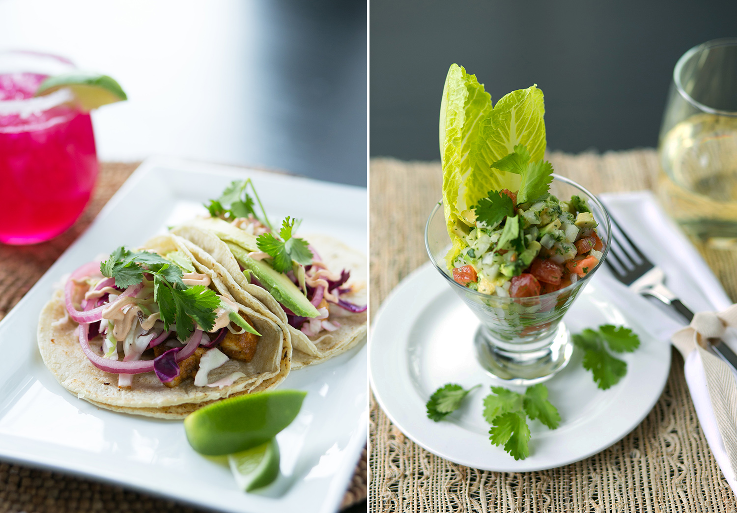 Restaurant food styling and photography by Dena Robles