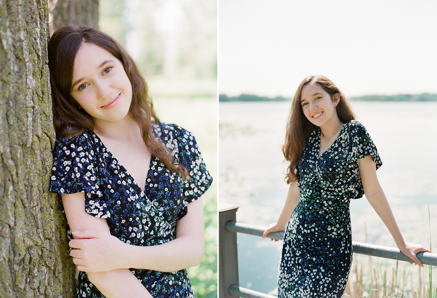 West Michigan senior portraits