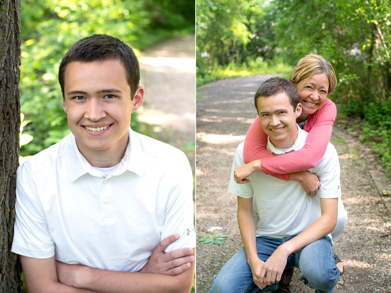 outdoor teen boy head shot photos