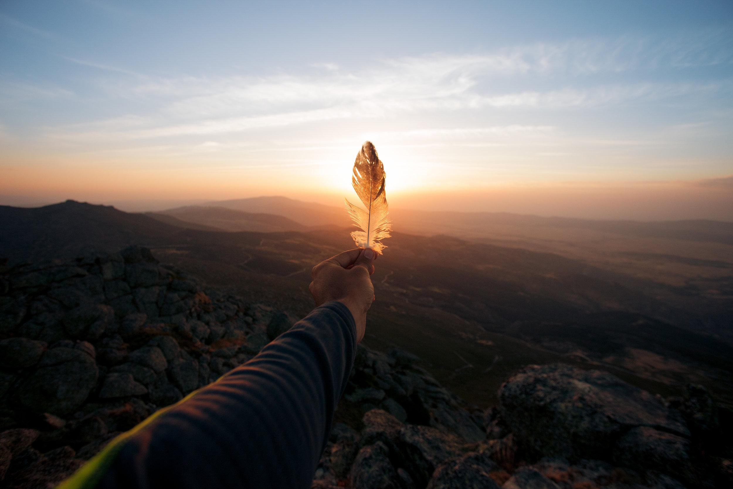 My beloved sierra, summer breeze and sunset