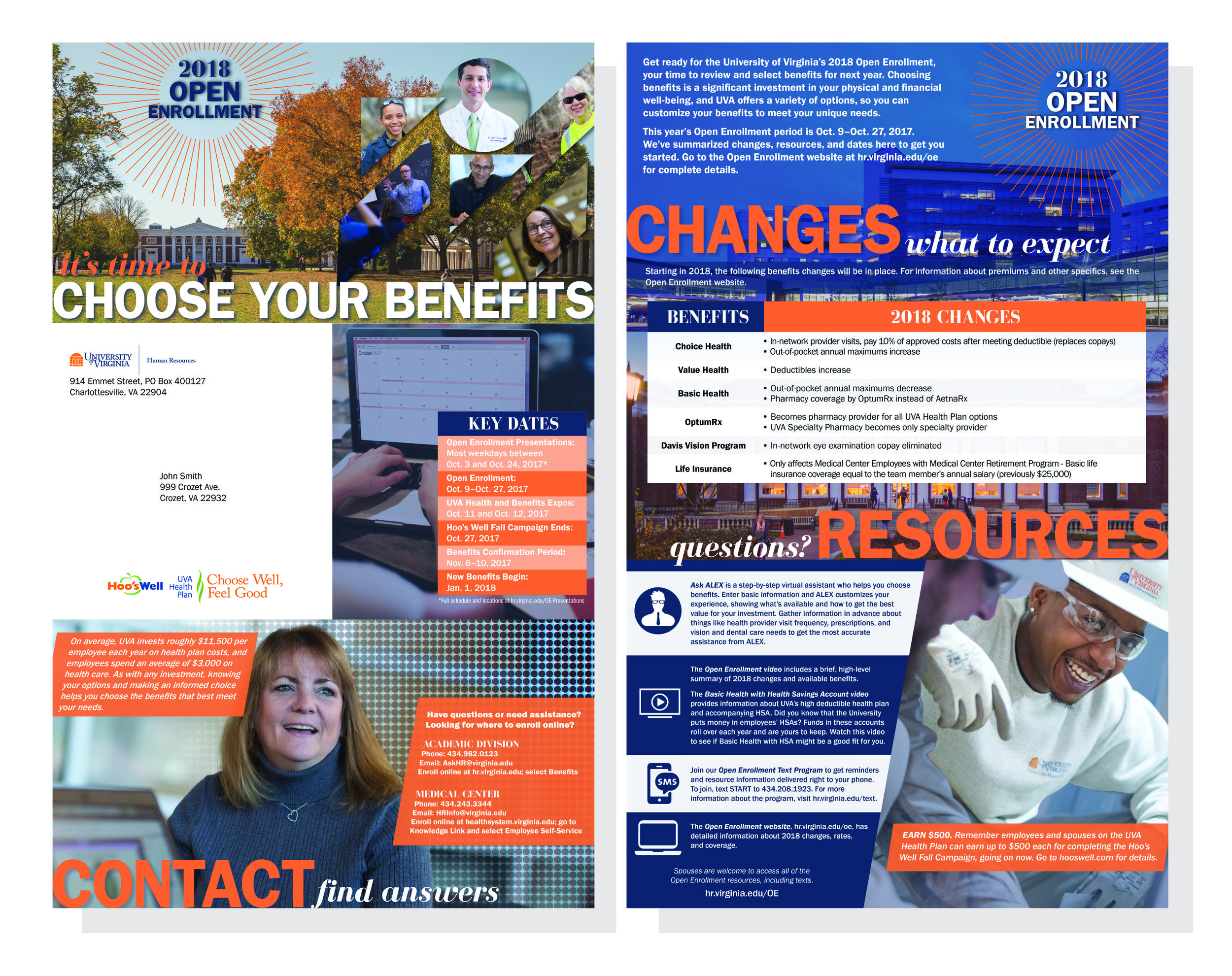 Hive Creative Group | Graphic Design University of Virginia Charlottesville Mailer.jpg