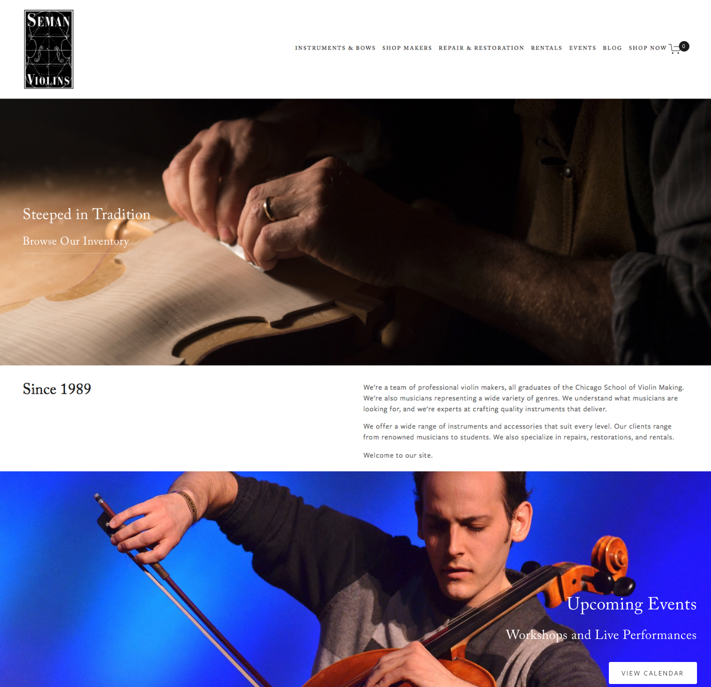 Hive Creative Group | Seman Violins Website Design.jpg