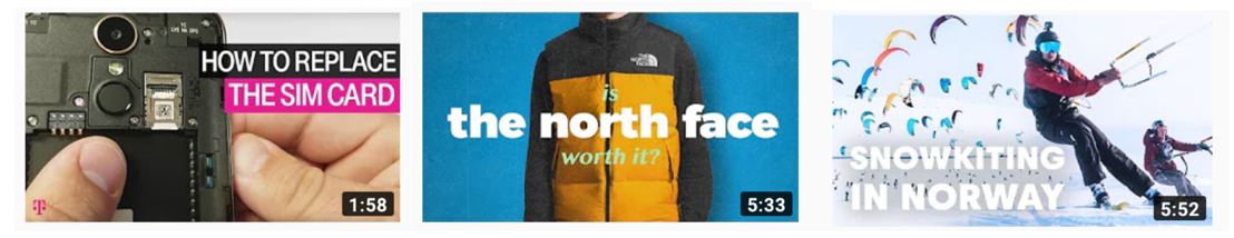 (Brand examples: Red Bull, North Face, and T-Mobile)