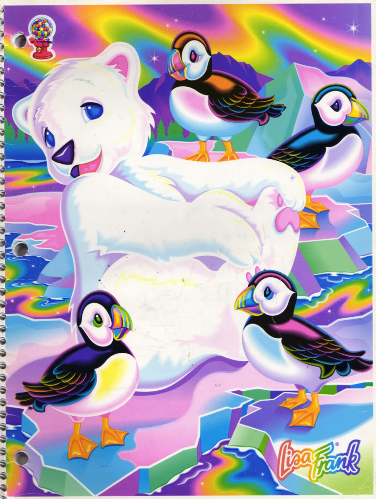 lisa frank polar bear.jpg