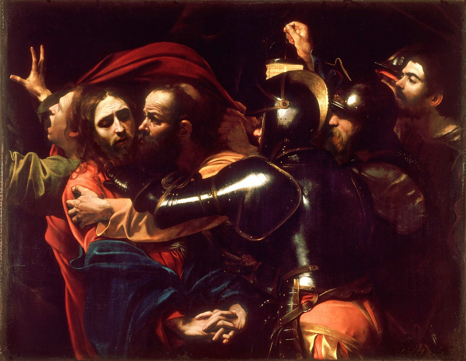 The Taking of Christ, Caravaggio