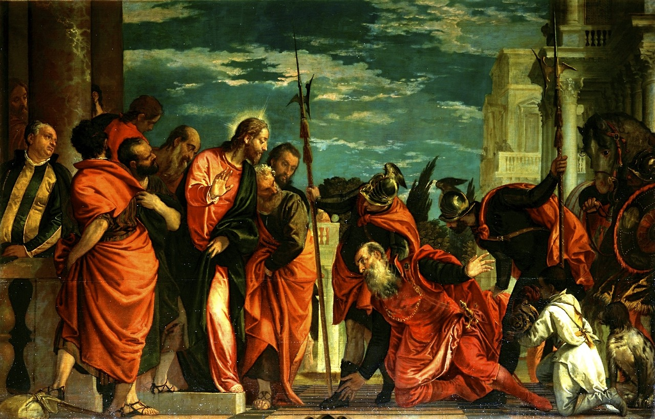 Paolo Veronese,  The Centurion of Capernaum before Christ