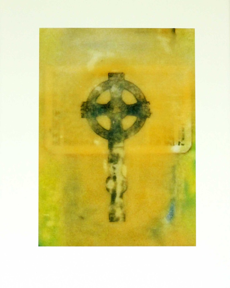 Cross in Encaustic, by Phaedra Taylor