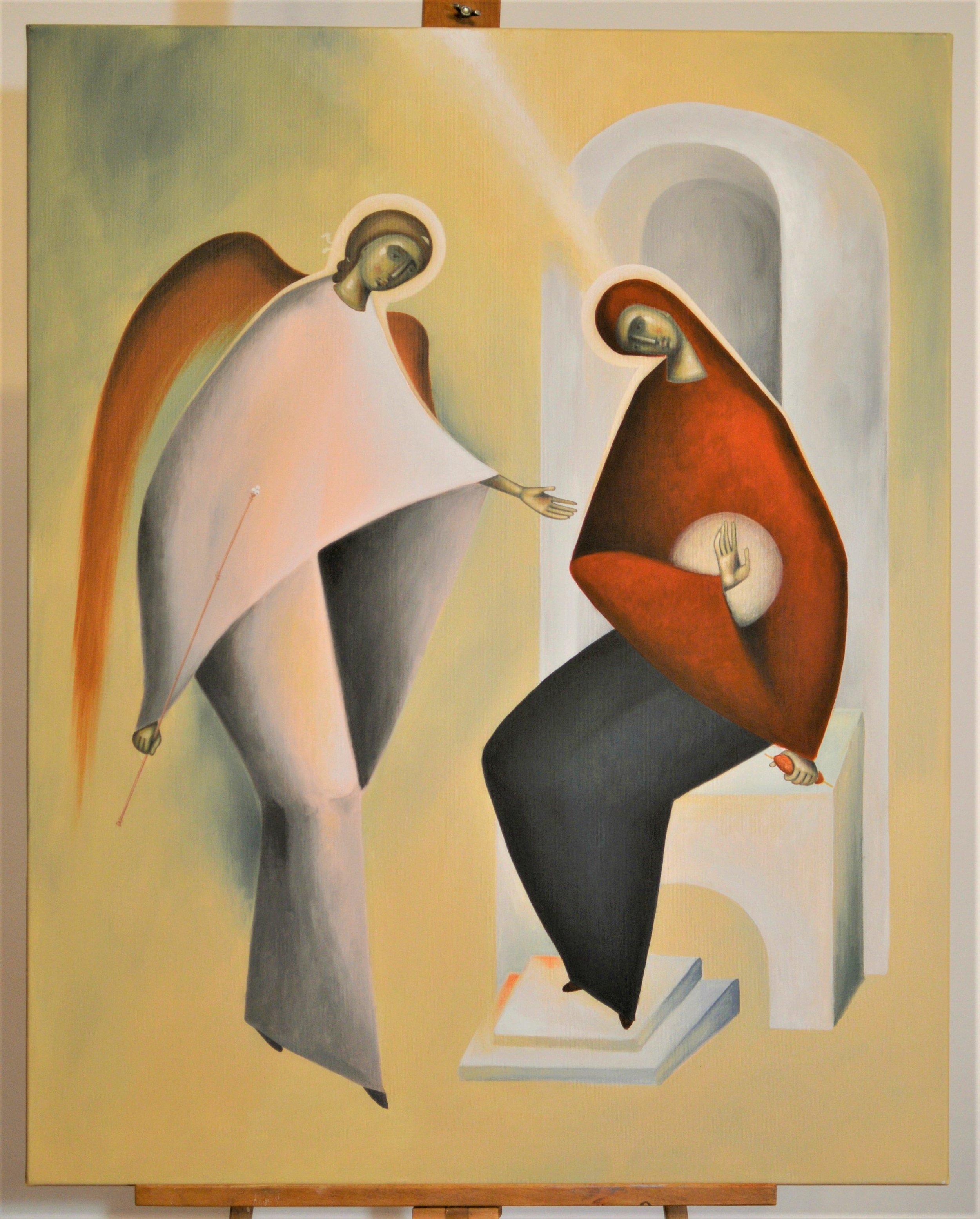 The Annunciation, Liviu Dumetrescu