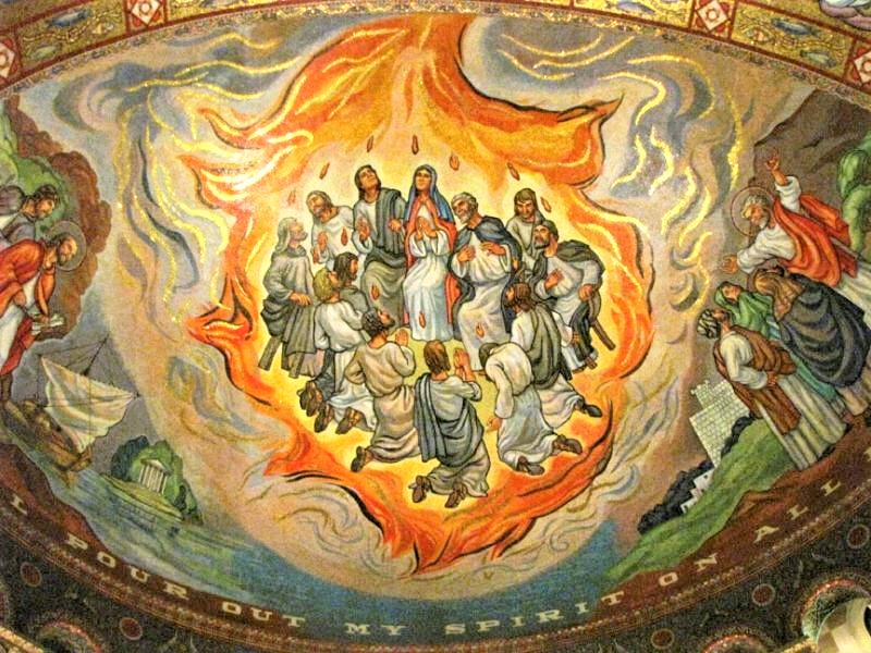 Pentecost  at St. Louis Cathedral