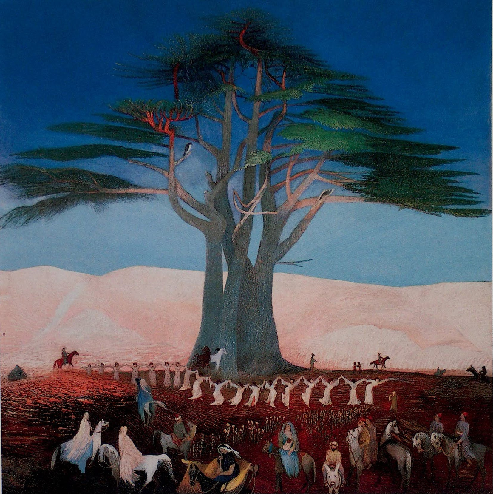Pilgrimage to the Cedars in Lebanon , Tivadar Csontváry Kosztka (1907)