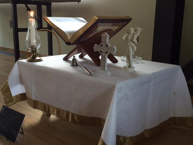 Epiphanytide Prayer Table  in Children's Chapel.JPG