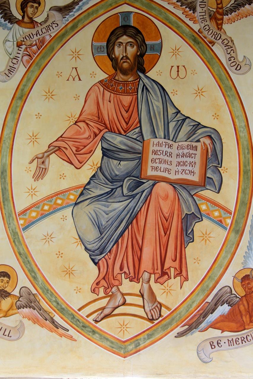 Christ in Glory , Shrewsbury, England.