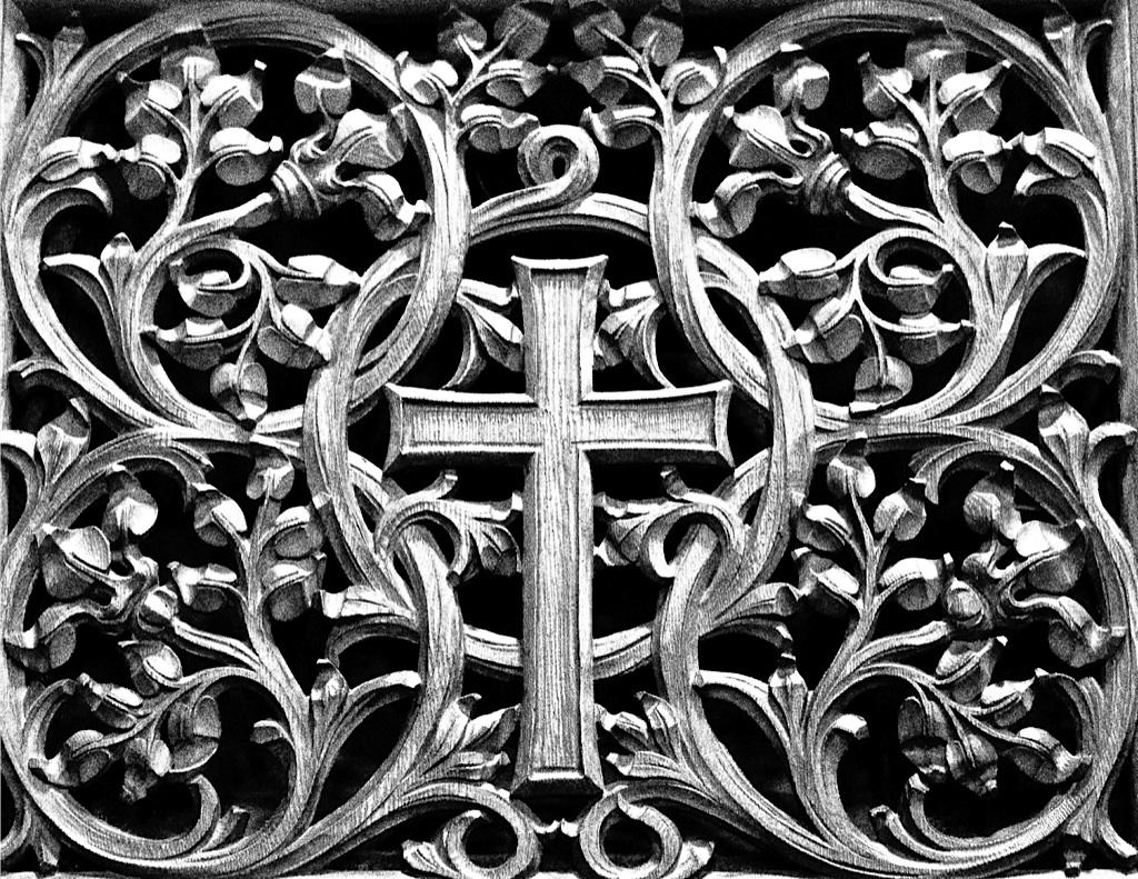 Duke Chapel Cross, by Shawn Bailey, 2013.