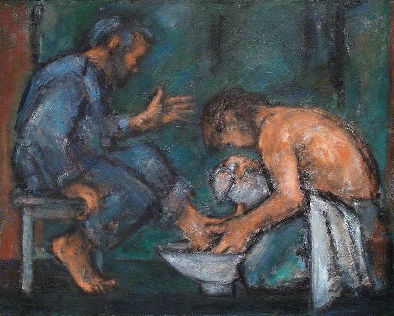 The Washing of the Feet, by Ghislaine Howard, 2004.