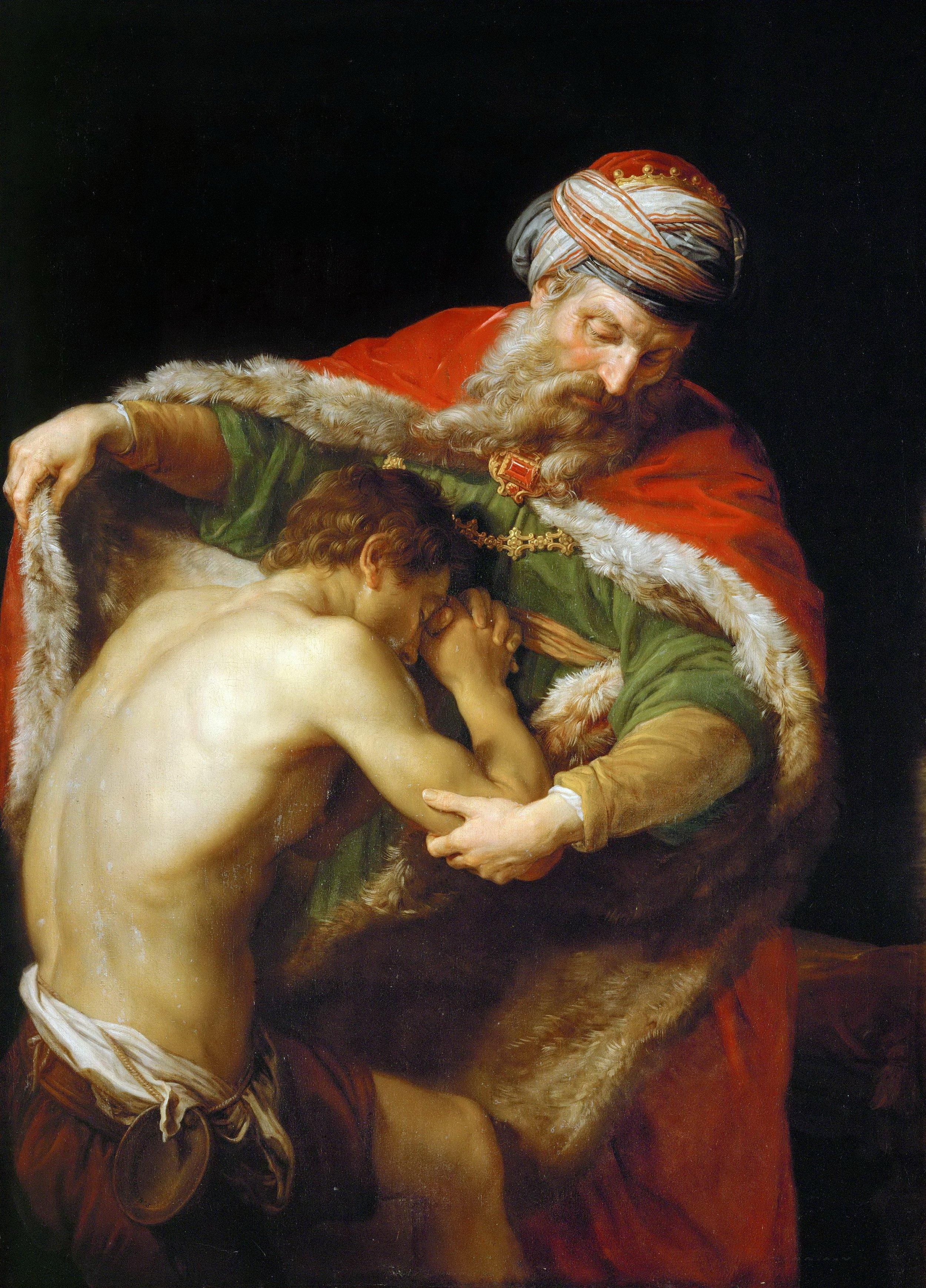 Return of the Prodigal Son, Pompeo Batoni. 1773.