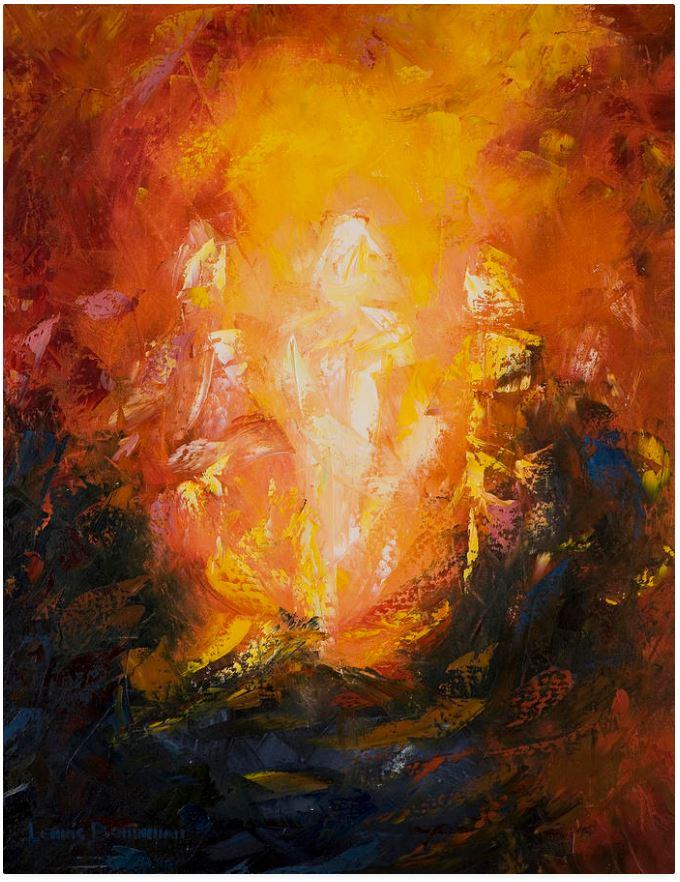 Transfiguration, Lewis Bowman, 2008.