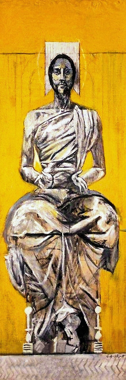 Christ Seated in Glory, Graham Sutherland, 1955.