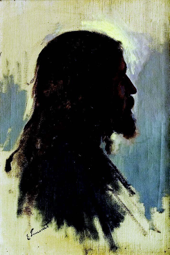 Cabeza de Jesús , Enrique Simonet, 1897.