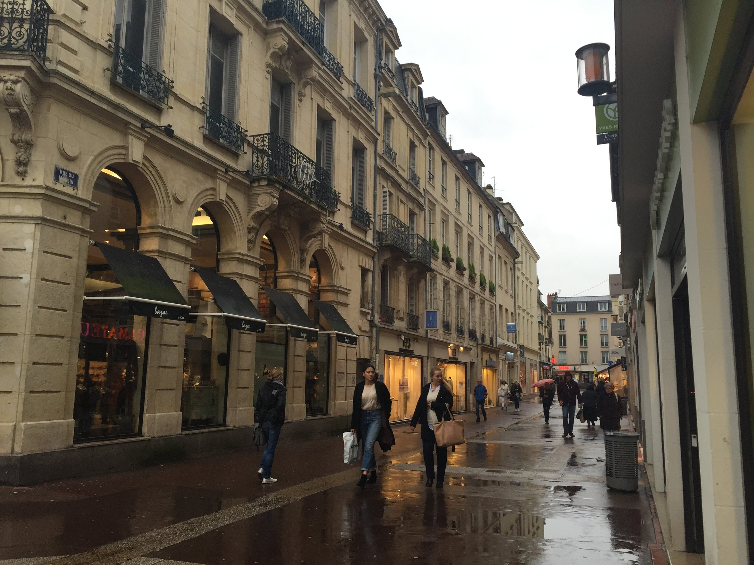 Caen City Centre