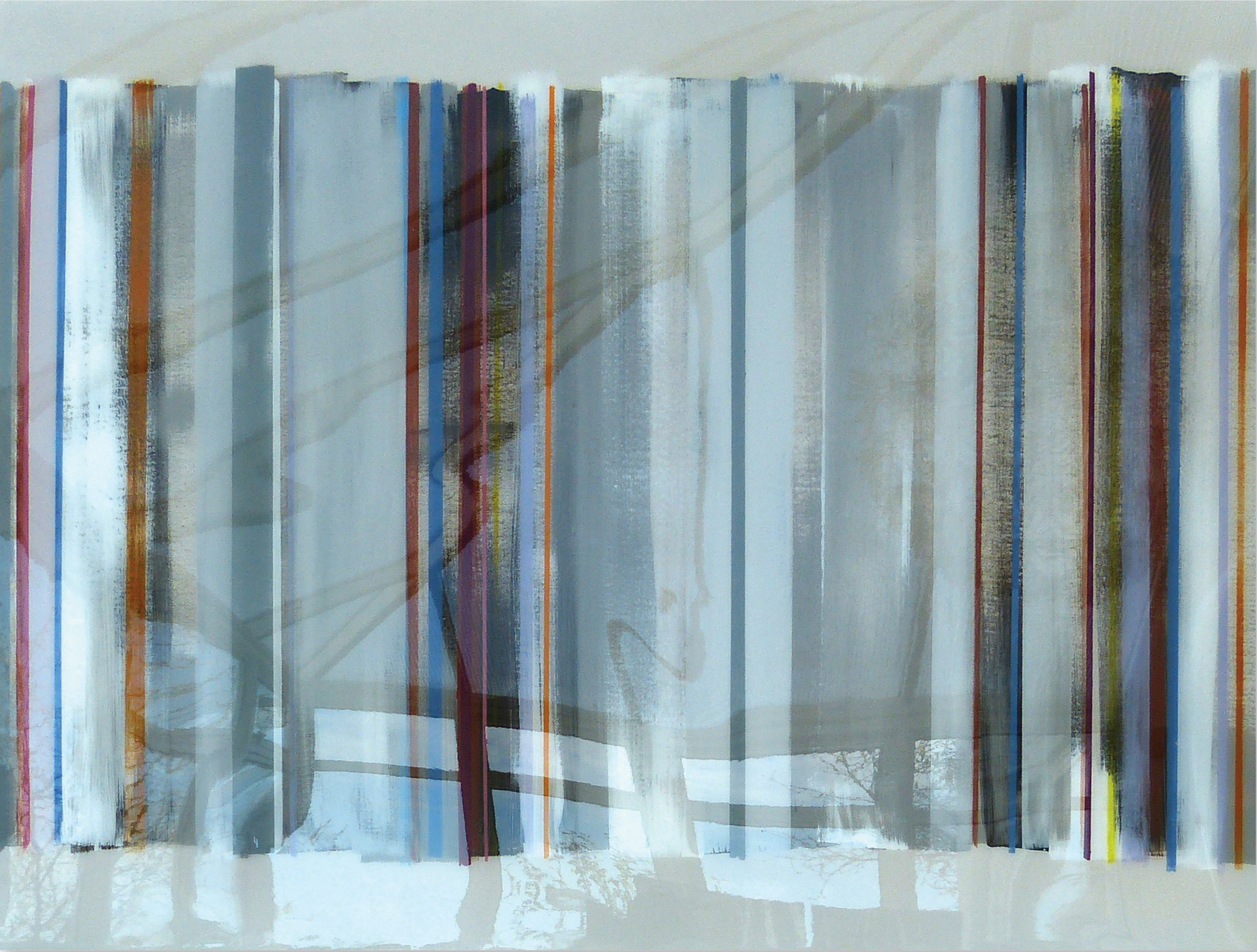 ALLORA 102x76cm | mixed media on canvas with high gloss epoxy resin | £1600.00 | SOLD