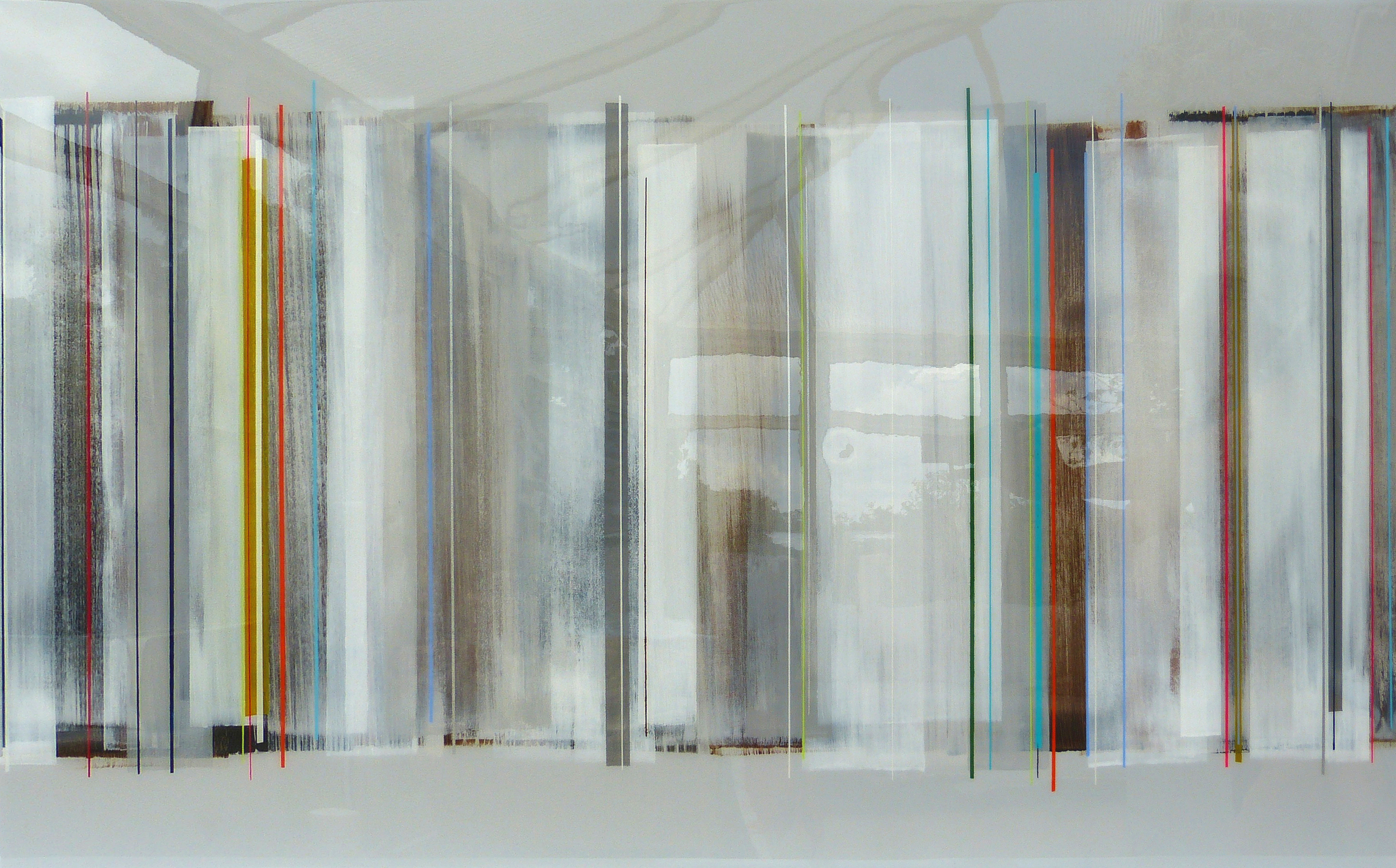 DIGBY 122x76cm | mixed media on canvas with high gloss epoxy resin | £1700.00 | SOLD