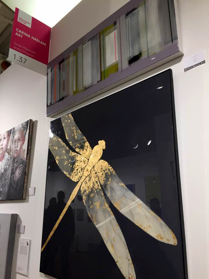 ATER DRAGONFLY and QUAD at the Affordable Art Fair New York | SOLD