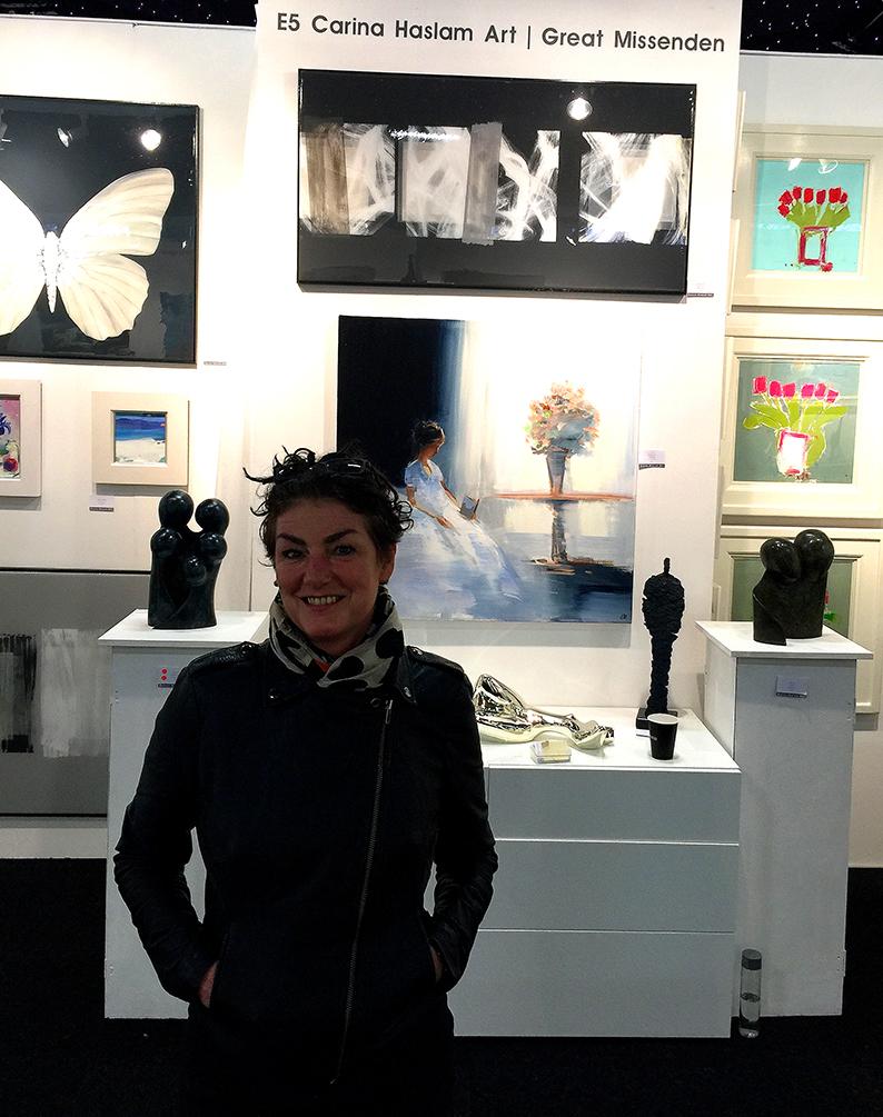 Affordable Art Fair Battersea with Carina Haslem Art