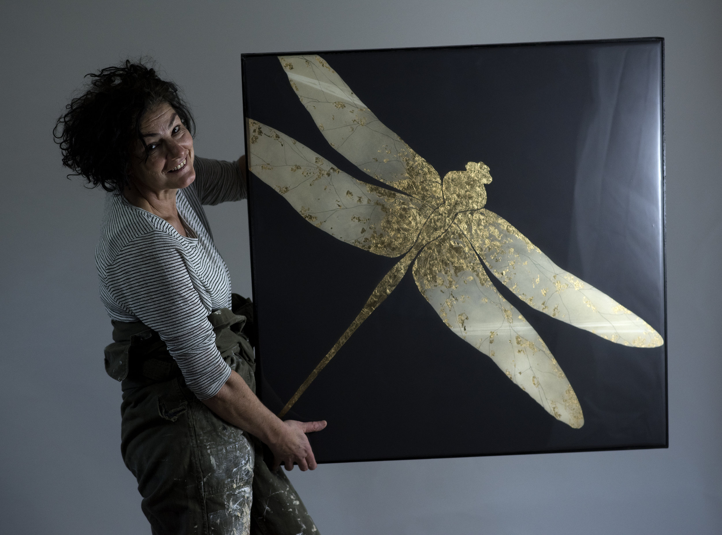 CHIFFON | 90x90cm | oil and metal leaf on board with high gloss epoxy resin | £2,200.00 |