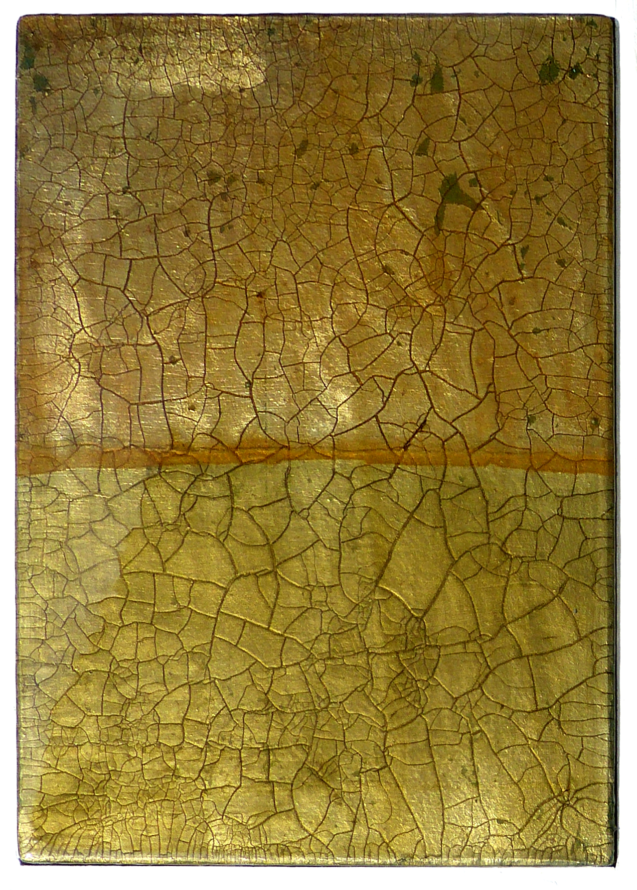 FRORE No.6 | 26x36cm gilded silver leaf and mixed media on board with high gloss epoxy resin | £490.00