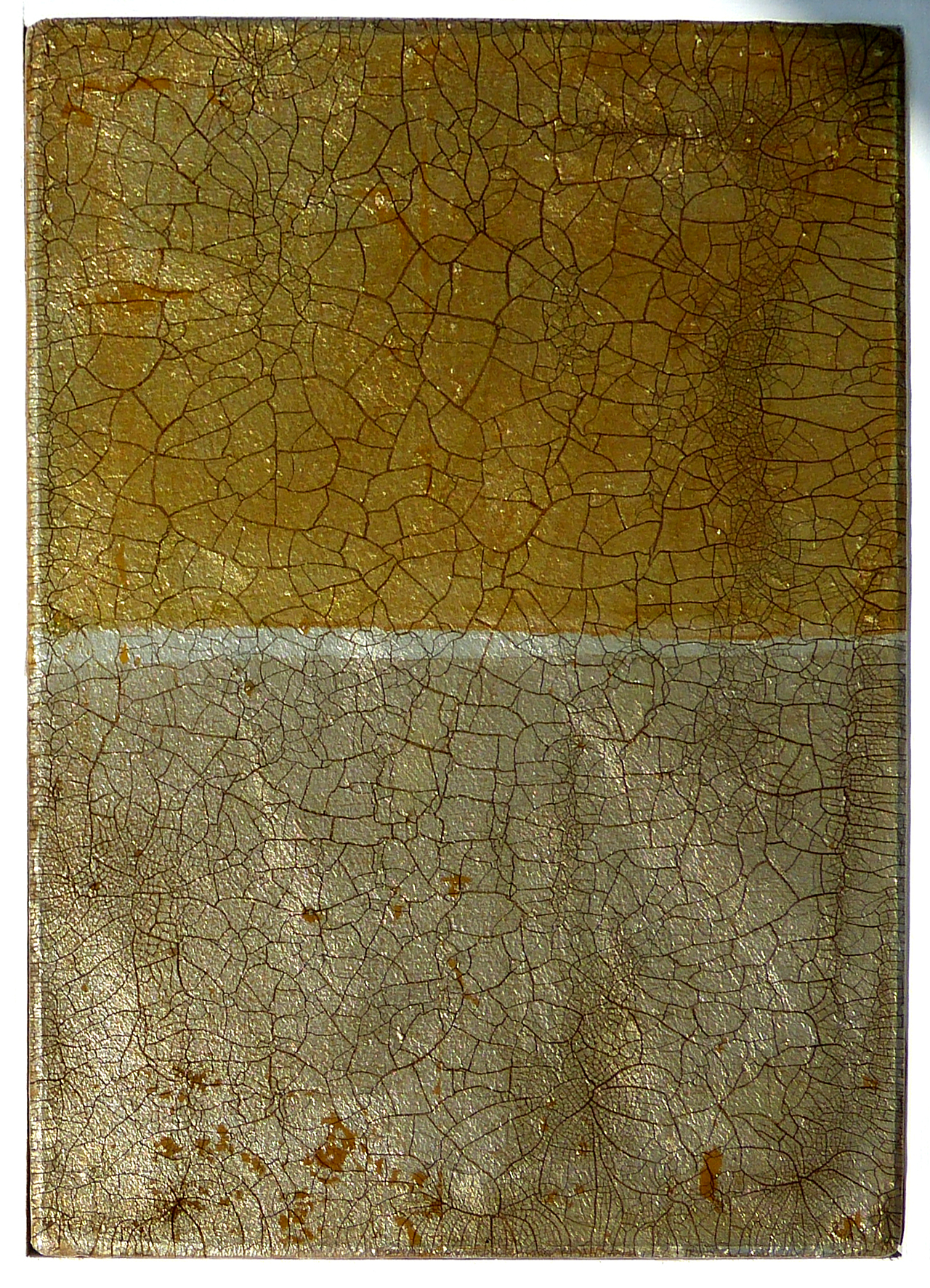 FRORE No.5 | 26x36cm gilded silver leaf and mixed media on board with high gloss epoxy resin | £490.00