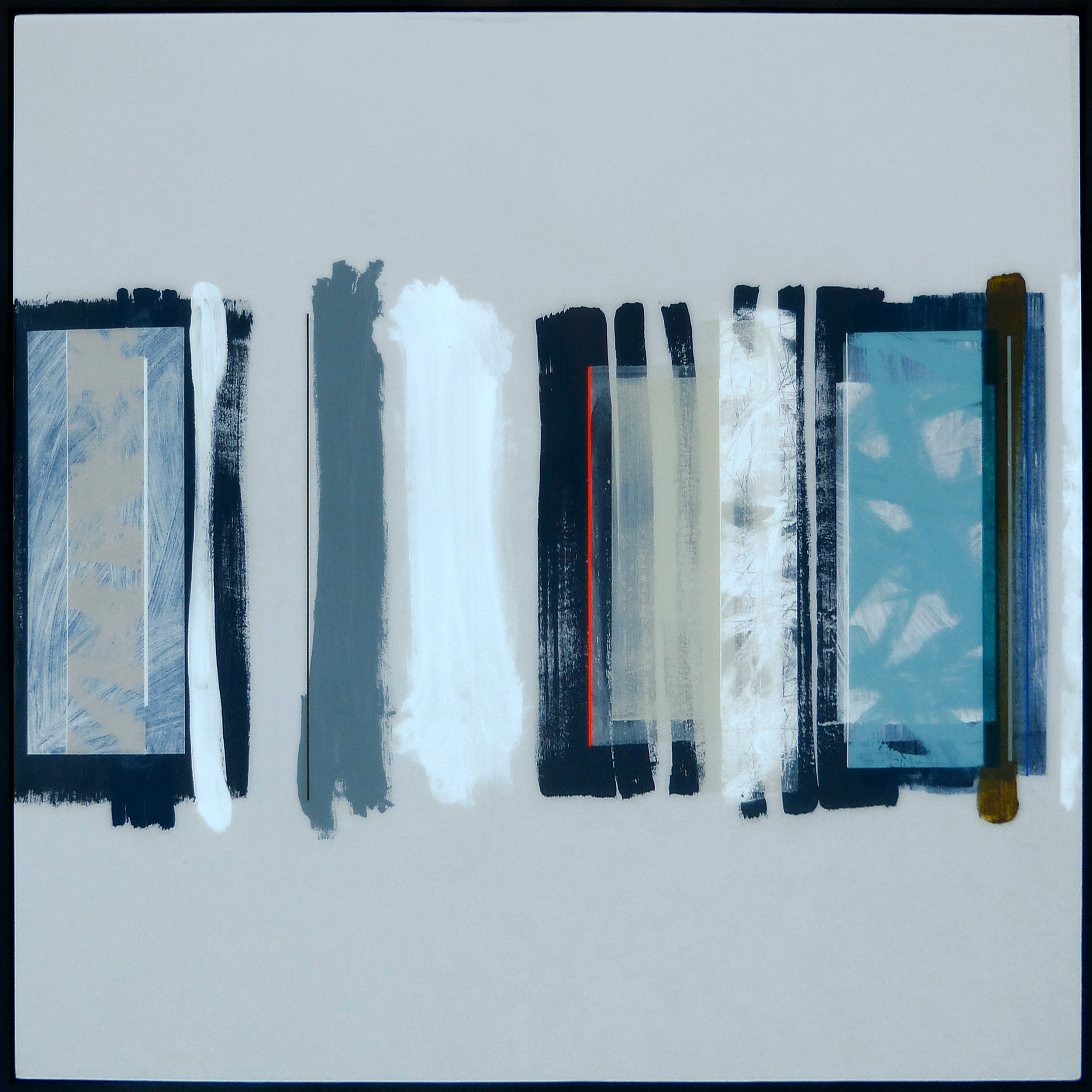 HEDLEY | 100x100cm | acrylic on board with high gloss epoxy resin | £3,900.00 | SOLD