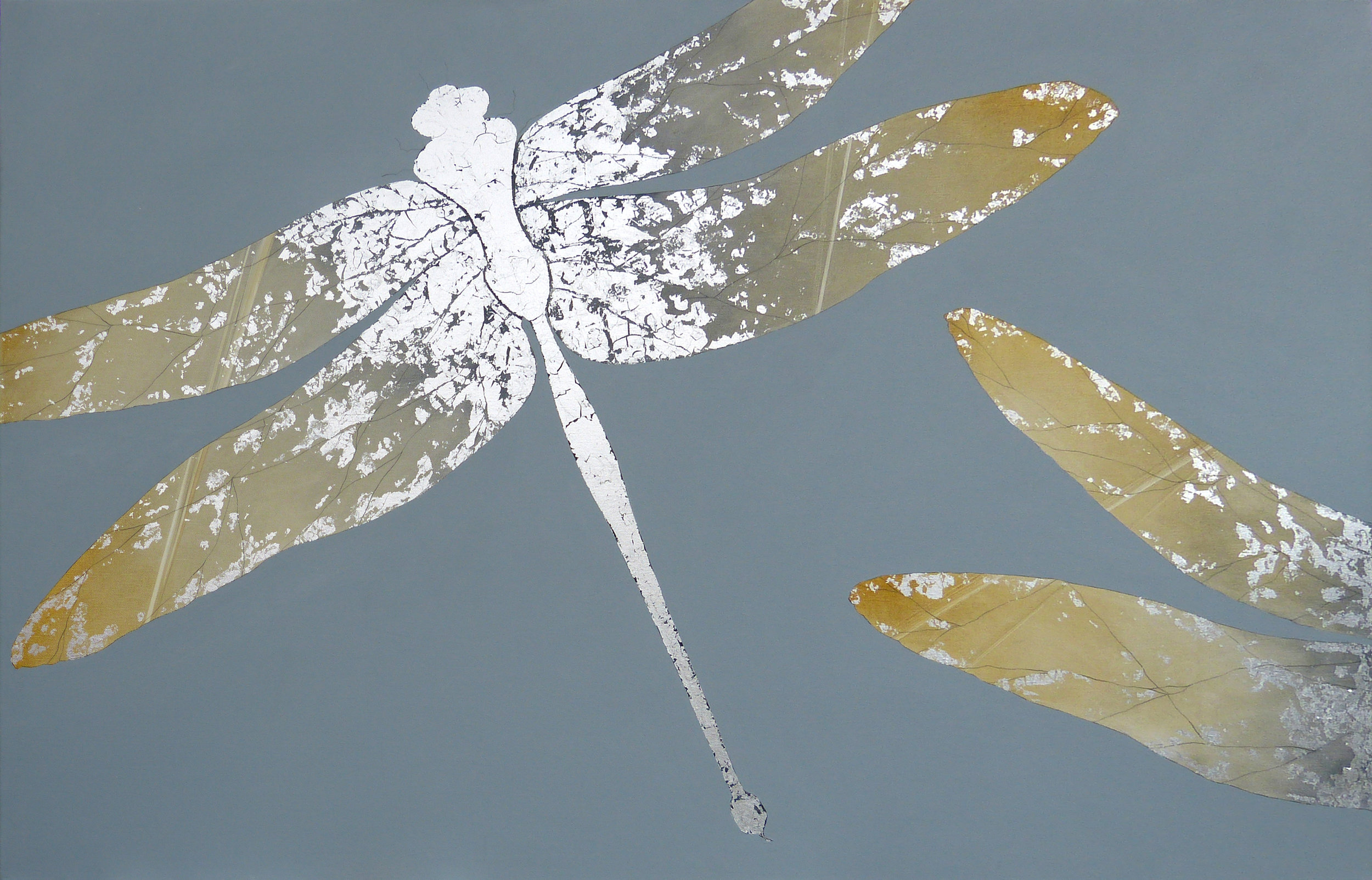 CLARA | 122x77cm | oil and metal leaf on canvas | £1,950.00 |