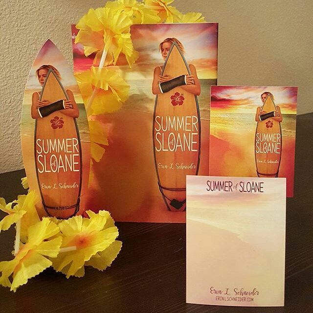 Heads up!!! The paperback version of #SummerOfSloane will be releasing from #disneyhyperion / #hyperionteens on May 2nd -- but is available for pre-order on Amazon.com, Target.com, and BarnesandNoble.com (to name a few sites!) RIGHT NOW!!! ・・・ Anyone who pre-orders a paperback copy of #SummerOfSloane before 5/2/17 and sends/emails (erinlschneider@outlook.com)/DMs me proof-of-purchase, will receive a signed bookplate, bookmark, and sticker!  Open International.  #instabook #bookstagram #debutauthor #Seattle #Hawaii #Honolulu #Hawaiian #HawaiianGirl #booksofsummer #beachread #summer #summerreads #surfboard #surfer #swag #preorder #SummerYA #YAReadsOfSummer #TheSweet16s #Class2k16books #bookmarks #beachreads #disneyhyperion #hyperionteens #yacontemporary #yareads #yabooks #yaauthor #yalit