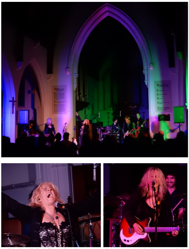 (Hallelujah...we had a brilliant night with an amazing audience at St. Johns Church in Farncombe last month 💕we'll be back    💕   )