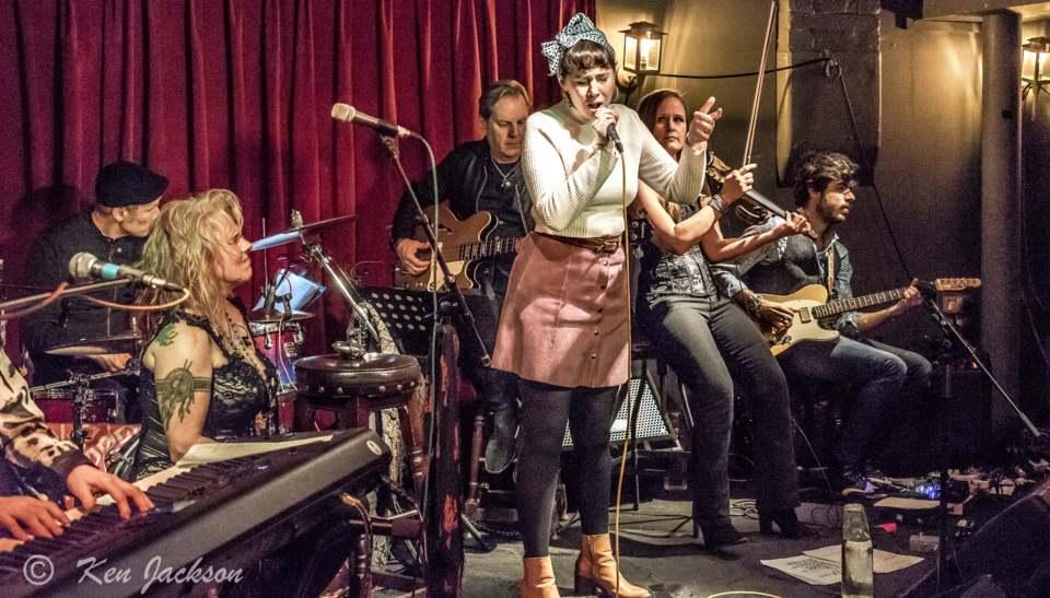 Guest Georgia Van Etten entertains - Photo by Ken Jackson