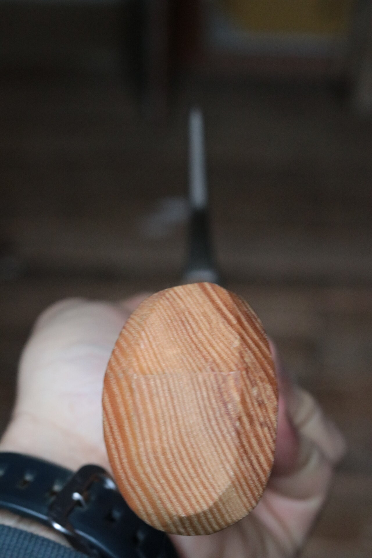 Good grain orientation in the handle