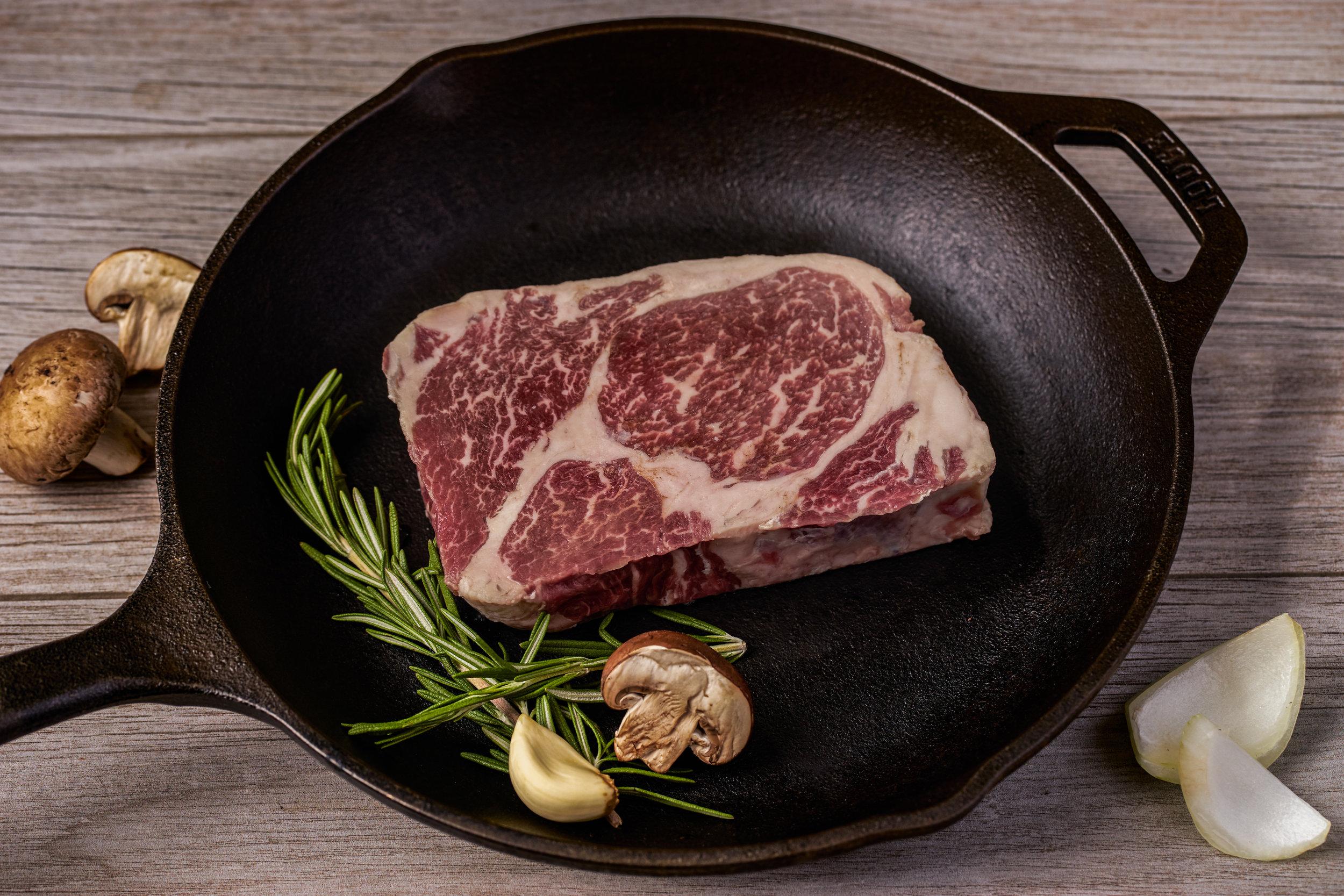 Natural Beef Ribeye Steak
