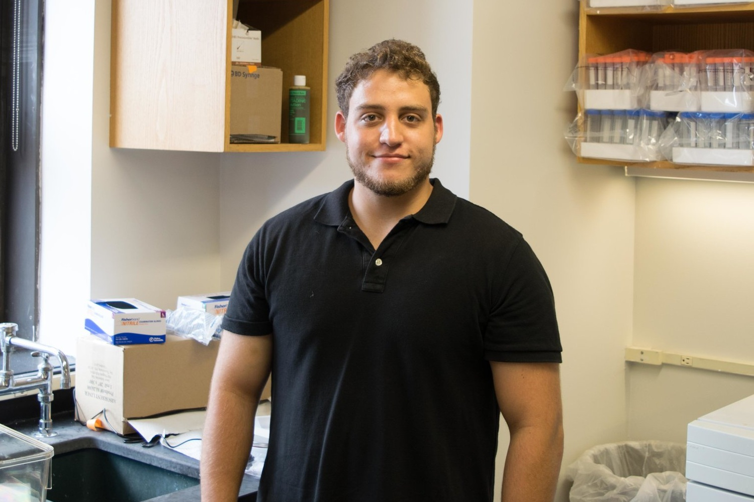Alec Seidenberg  Alec obtained a degree Behavioral NEUROSCIENCE from Hunter College and is CURRENTLY working in the Laboratory of Dr.  Dani Dumitriu at Columbia University.