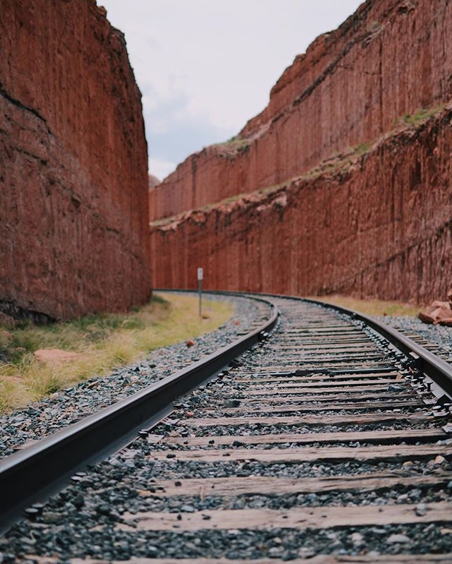 The path less travelled #🚉 #moab