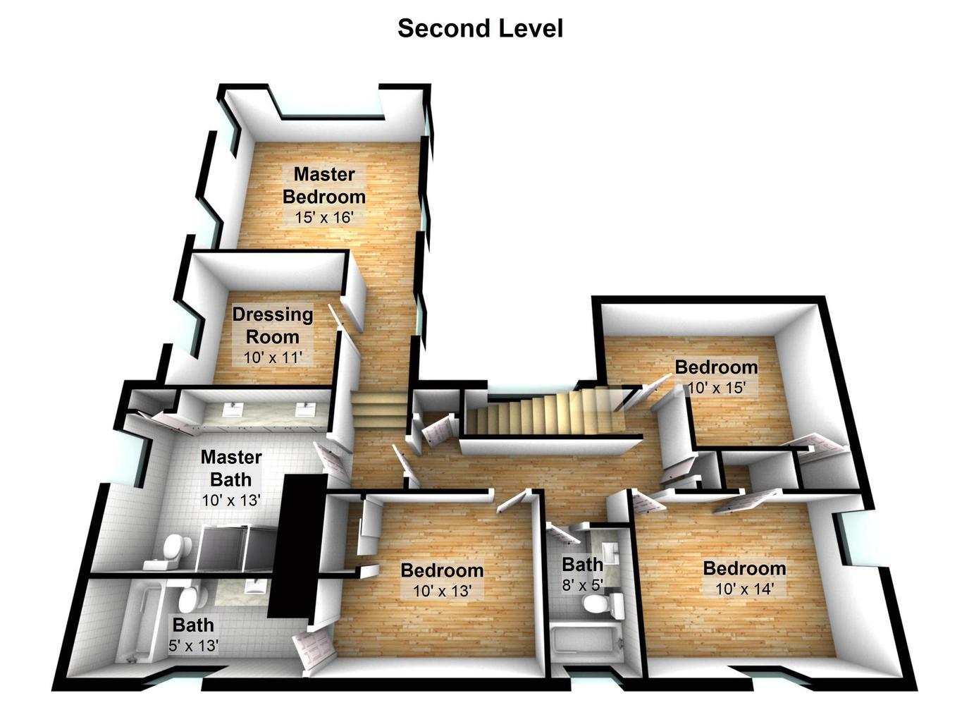 38 Terrace Ave Riverside CT-large-003-Second Level-1375x1000-72dpi.jpg