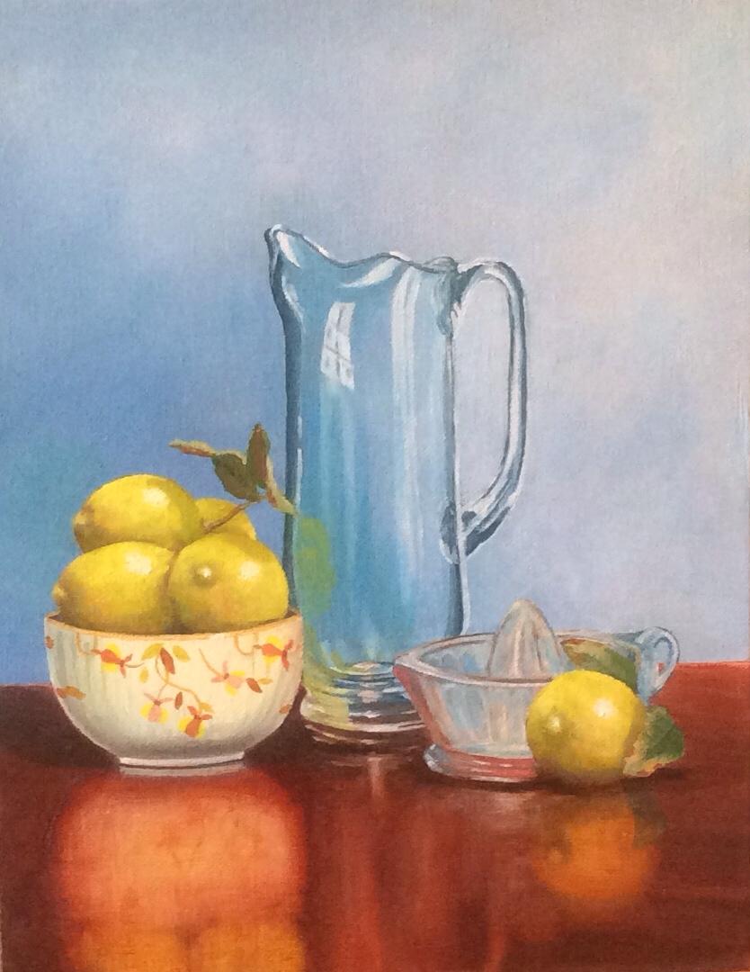 """""""Jewel Tea with Lemons"""""""