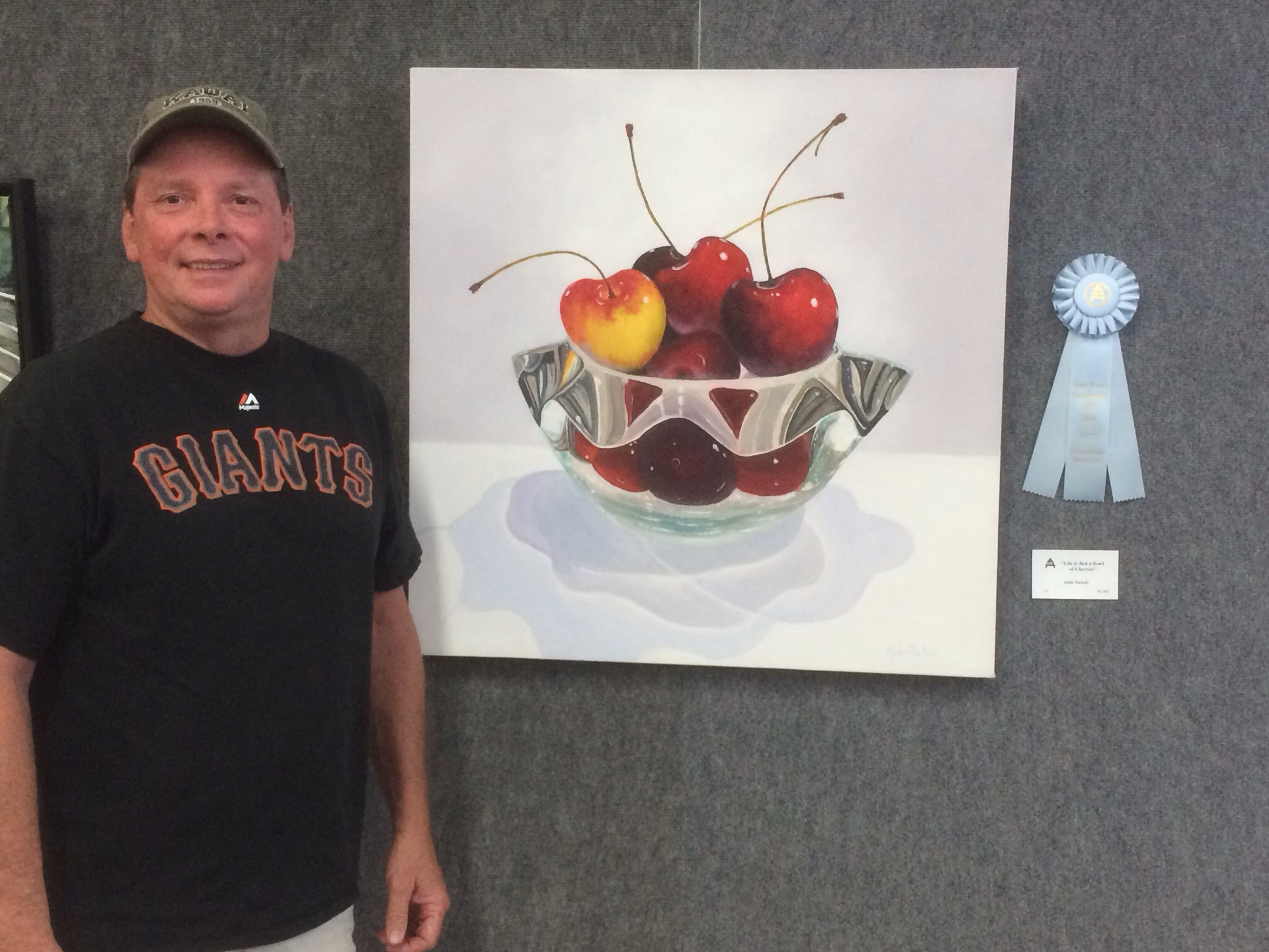 "Sacramento Fine Arts Center, ""People's Choice"" and ""Honorable Mention"""