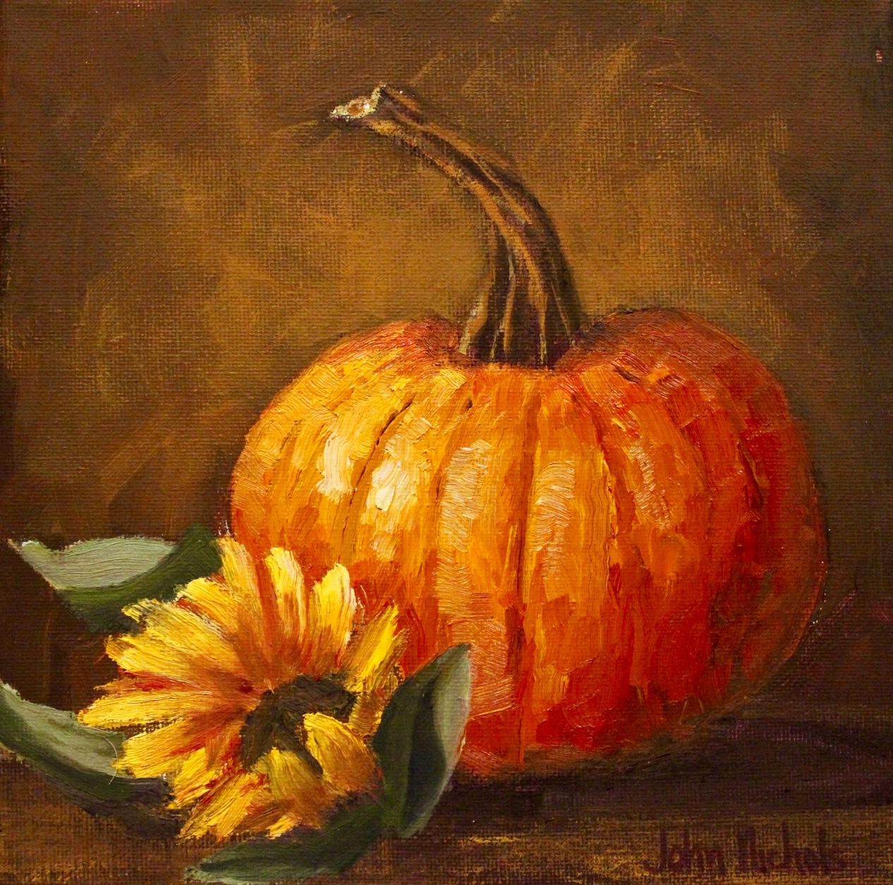 """""""Sunflower & Pumpkin"""""""