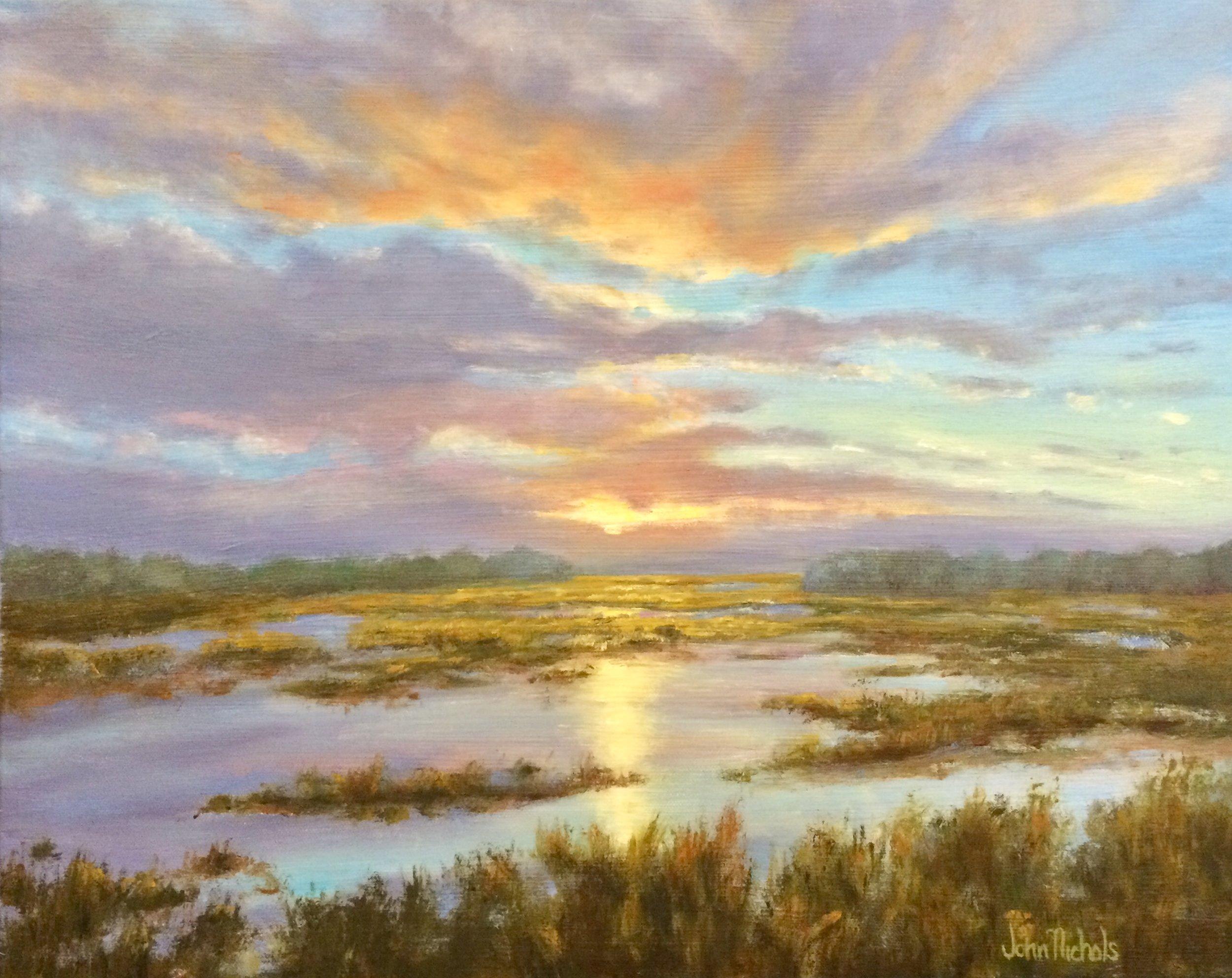 """Marsh Reflections"""