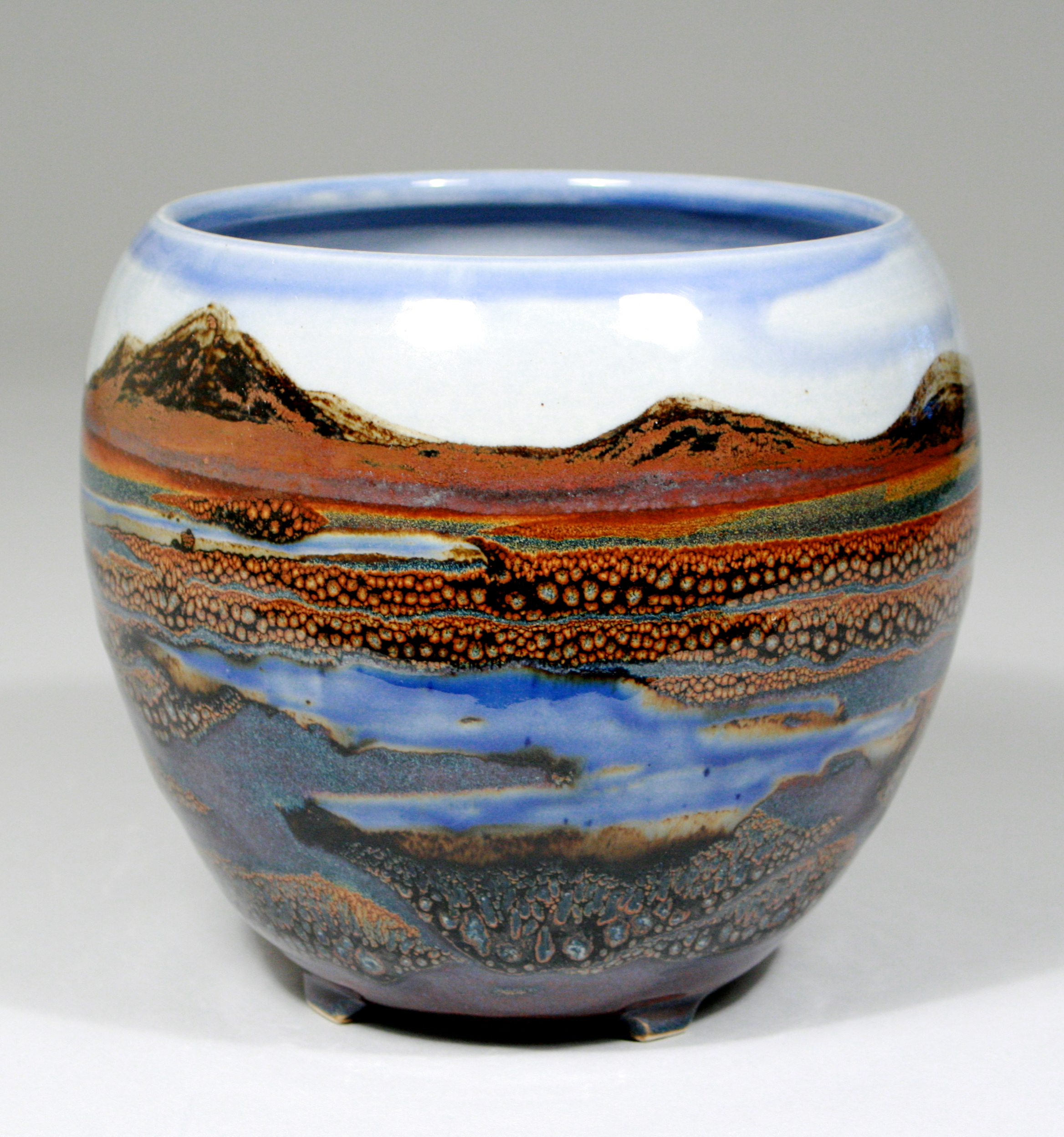 Landscape Bowl / Sold