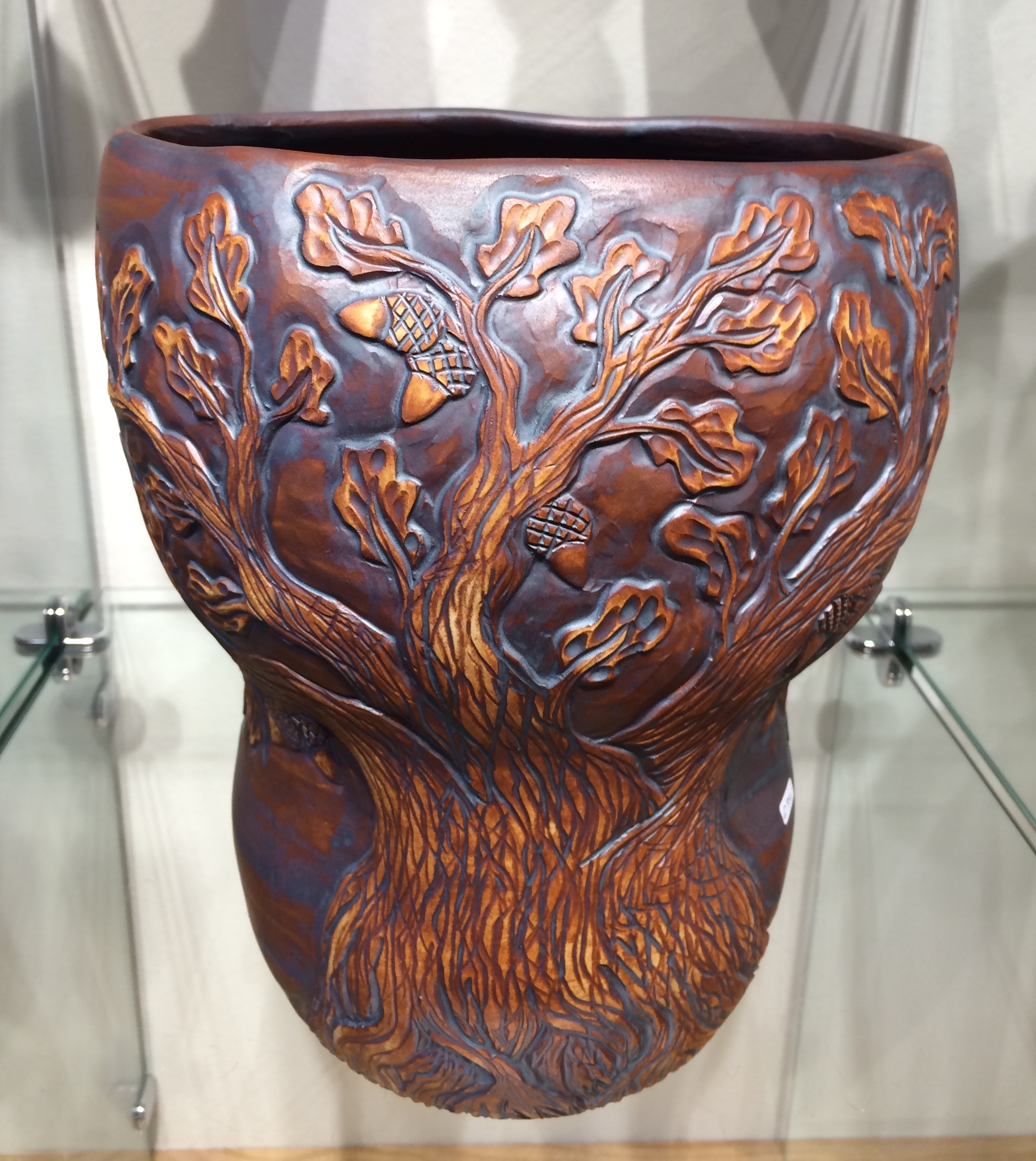 Oak Tree Vase/ Sold