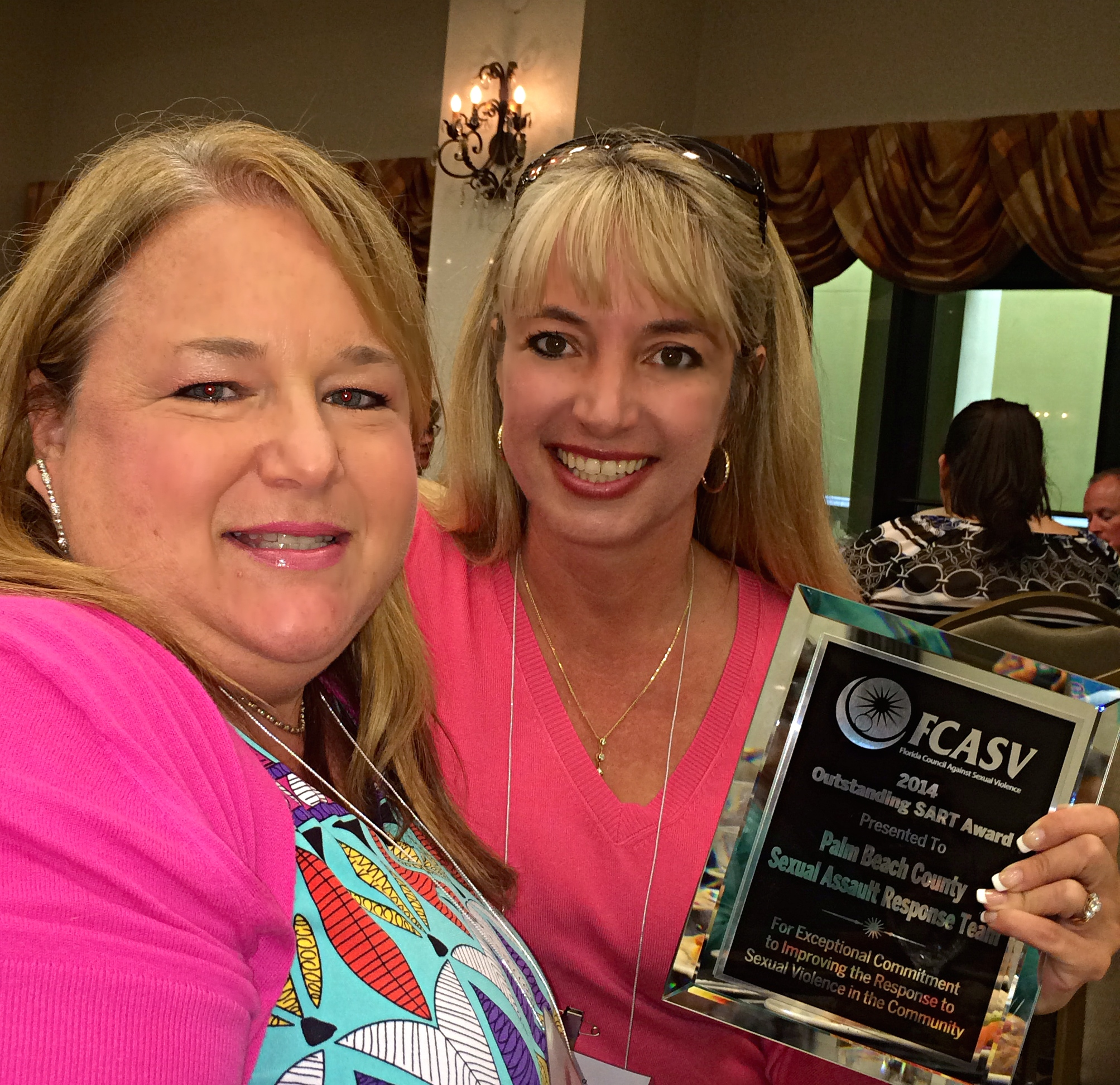 After only 3 years of serving the citizens of Palm Beach County, our Sexual Assault Response Team (SART) received an award for being the best team in the state of Florida.